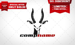 antelope logo for sale