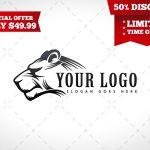 Lioness Logo | Ready Made Lioness Logo For Sale