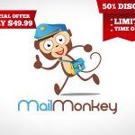 Monkey Logo | Mail Monkey Business Logo For Sale