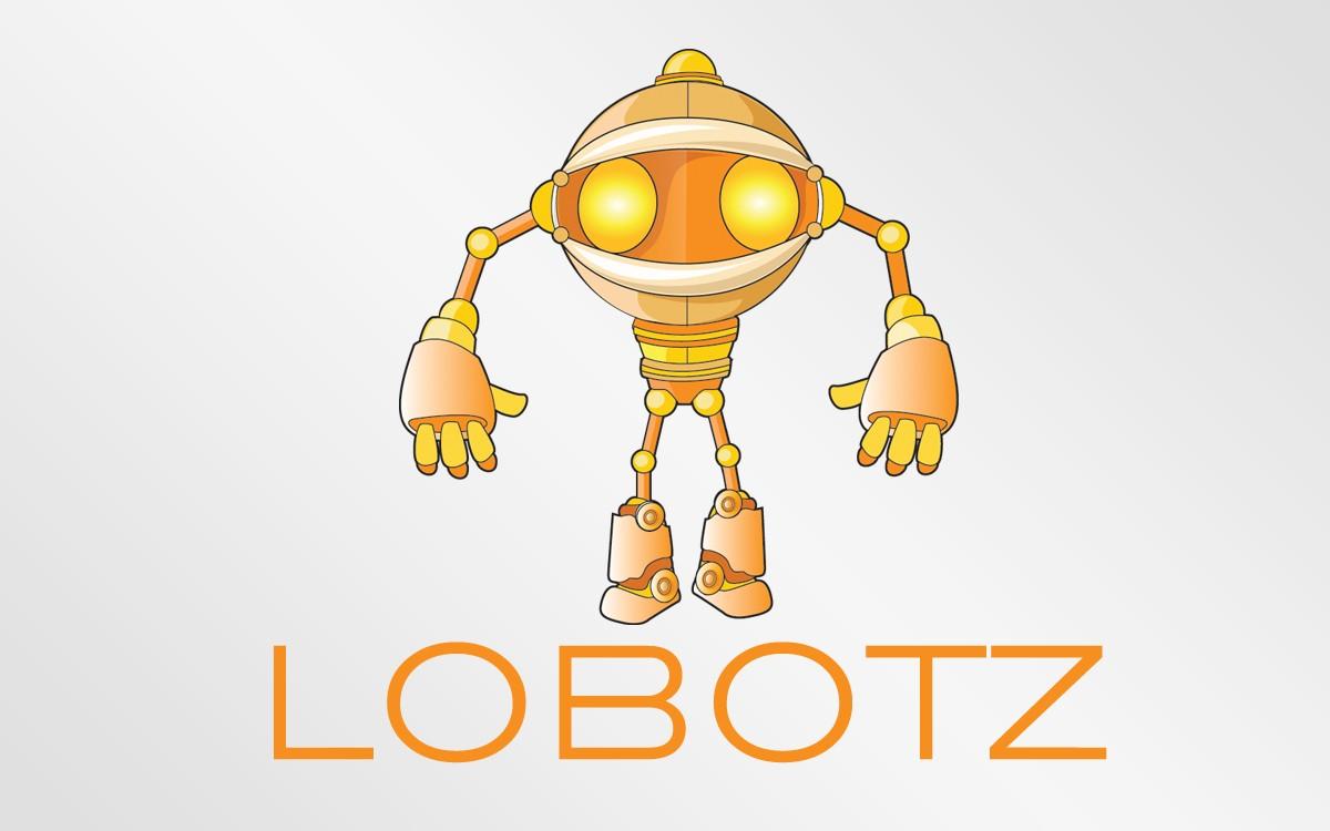 robot vector logo for sale