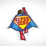 SuperHero Logo For Sale Creative & Modern