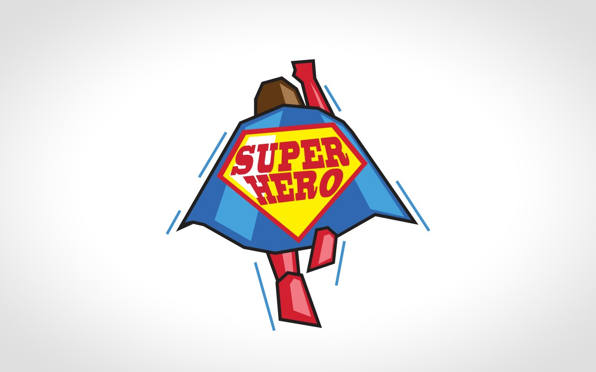 superhero logo for sale