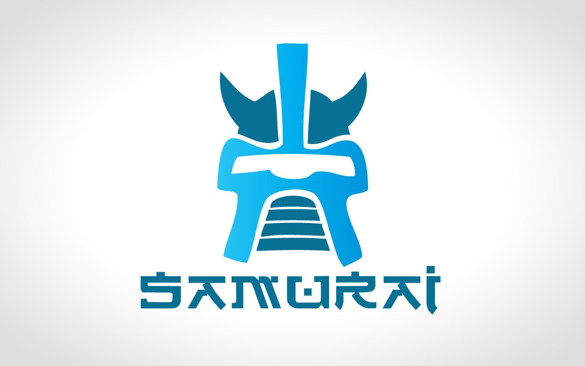 ... logo design of a samurai helmet will give strong, innovative and bold