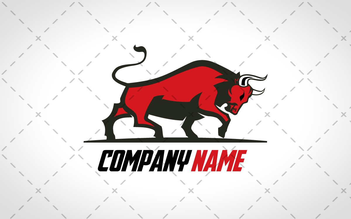 Strong Ox Logo For Sale - Lobotz