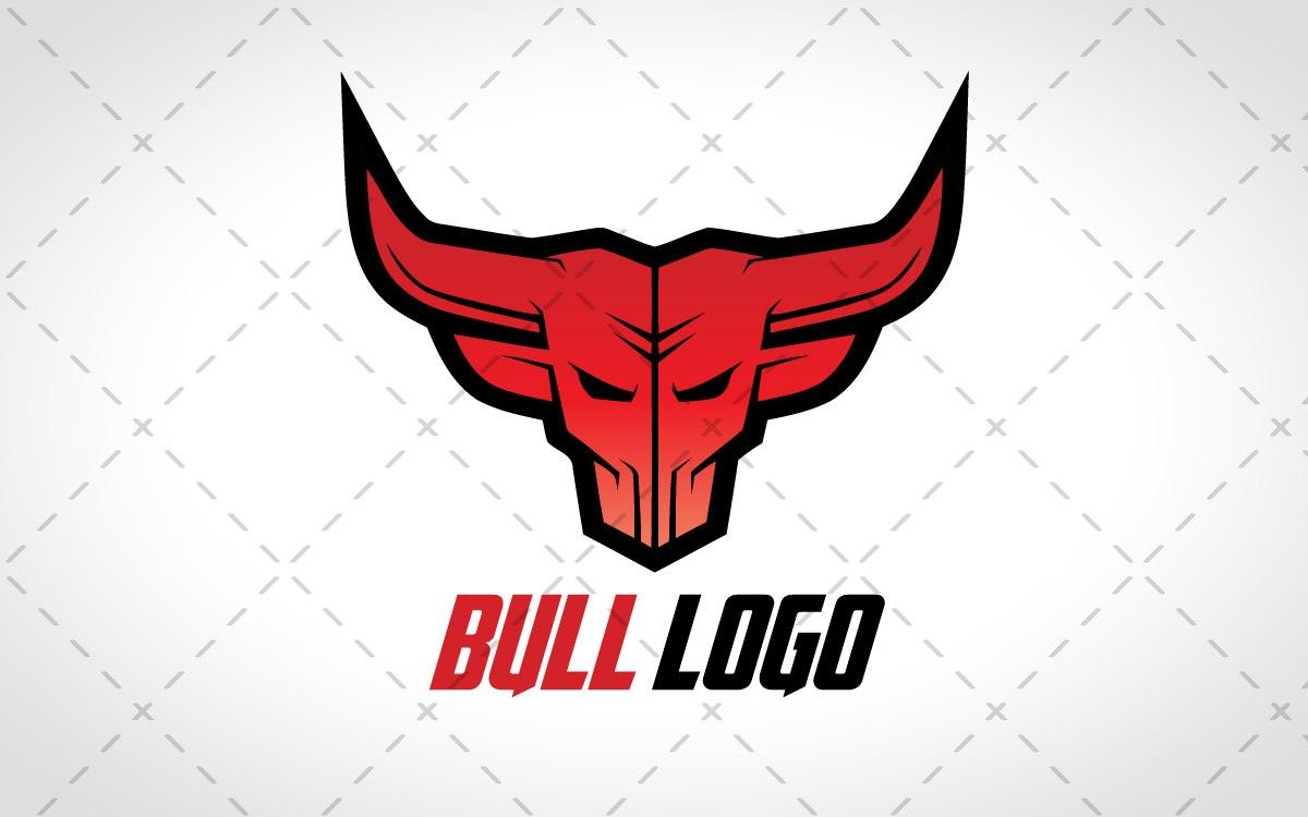 bull head logo for sale