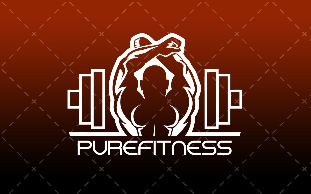 fitness gym logo for sale