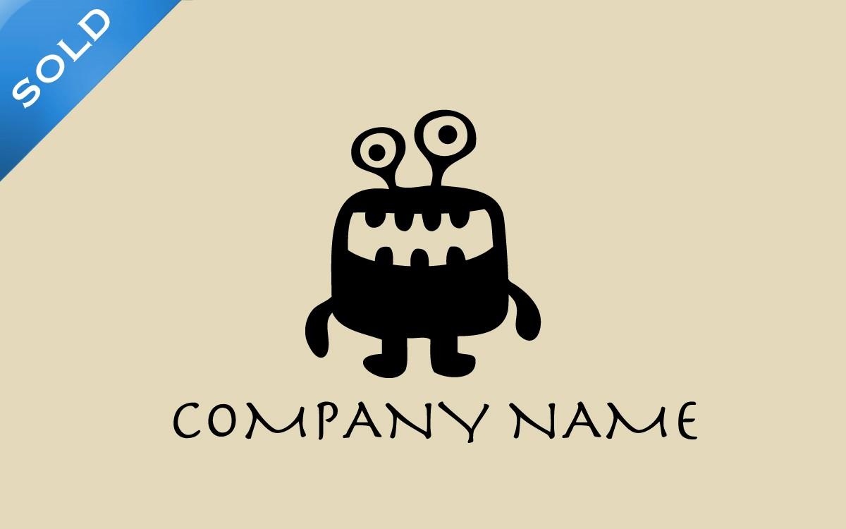 cute monster logo for sale lobotz