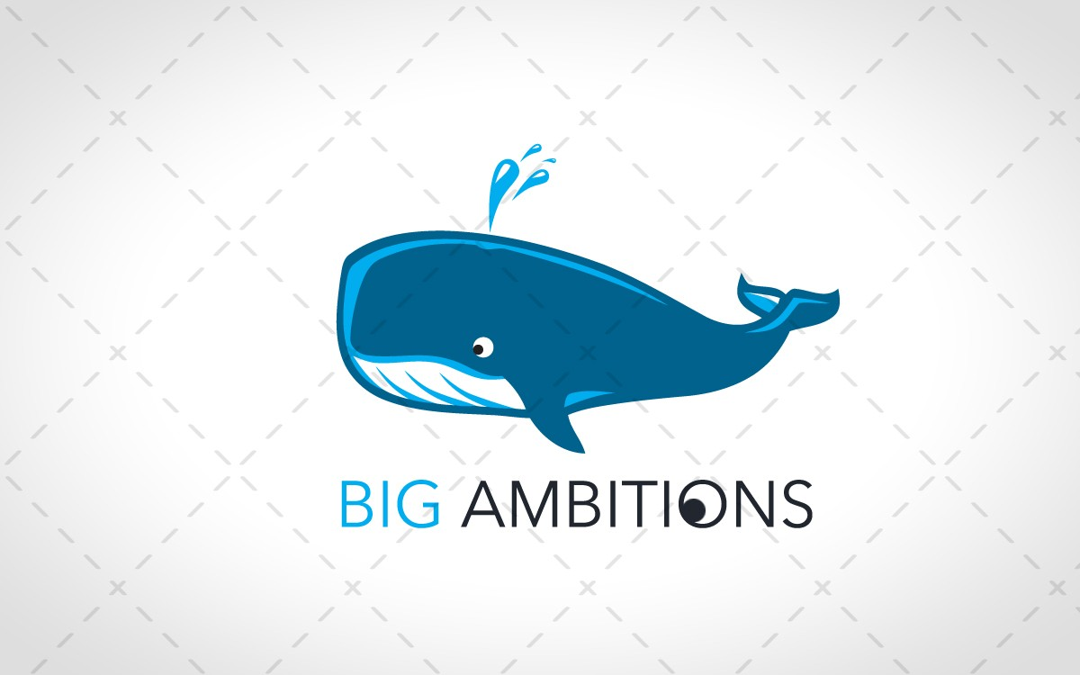 whale logo for sale