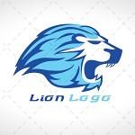 Lion Head Logo | Flaming Lion Head Logo For Sale