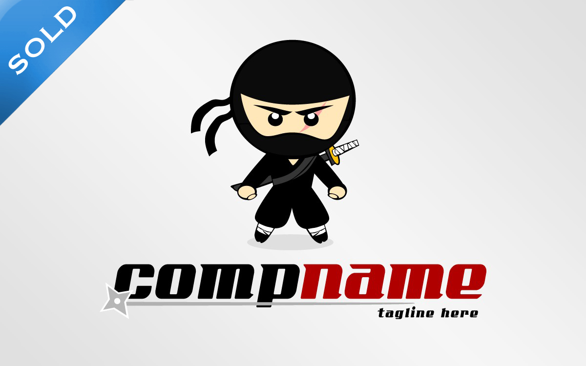 how to make ninjas logo