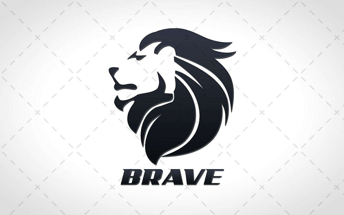 roaring lion head logos