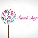 Colourful Sweets Logo For Sale