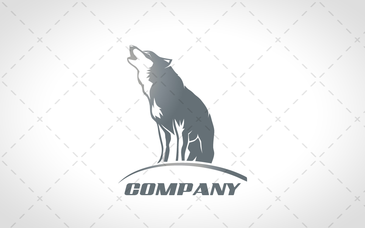 Howling Wolf Lo... Gaming Logos For Free