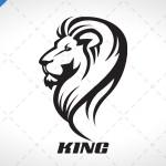 Spectacular Lion Head Logo For Sale
