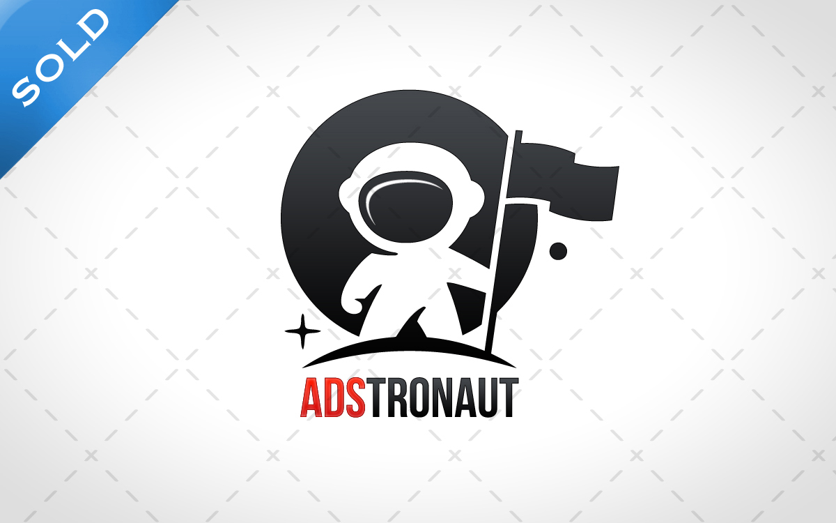 astronaut logo for sale