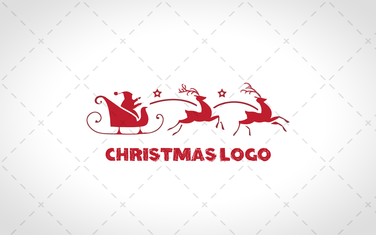 christmas logo for sale