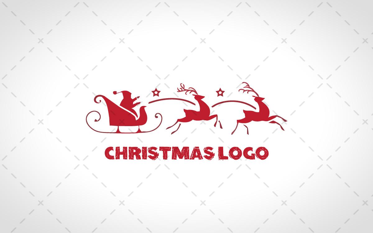 christmas logo for sale