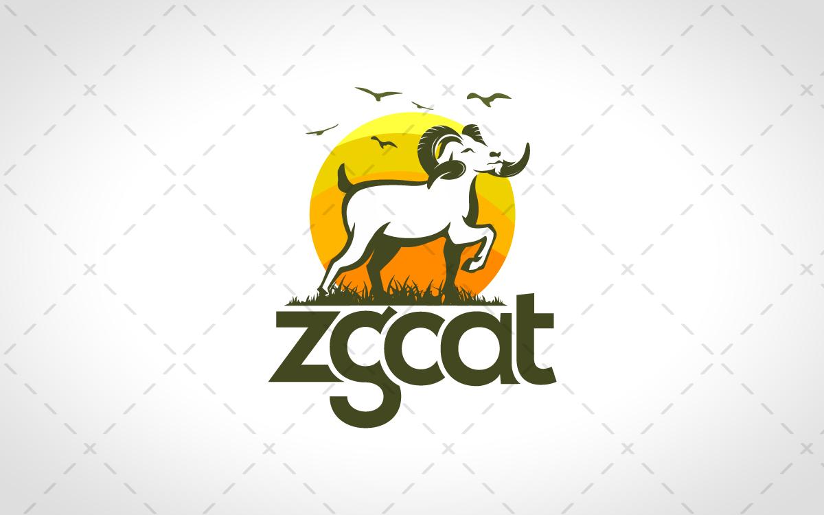 goat logo for salt