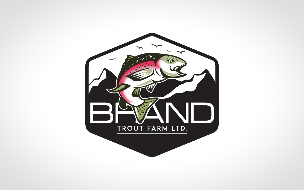 trout logo for sale