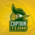 Creative & Striking Captain Sports Logo For Sale