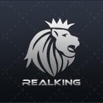 Lion Head Logo | Royal Lion Head Logo For Sale