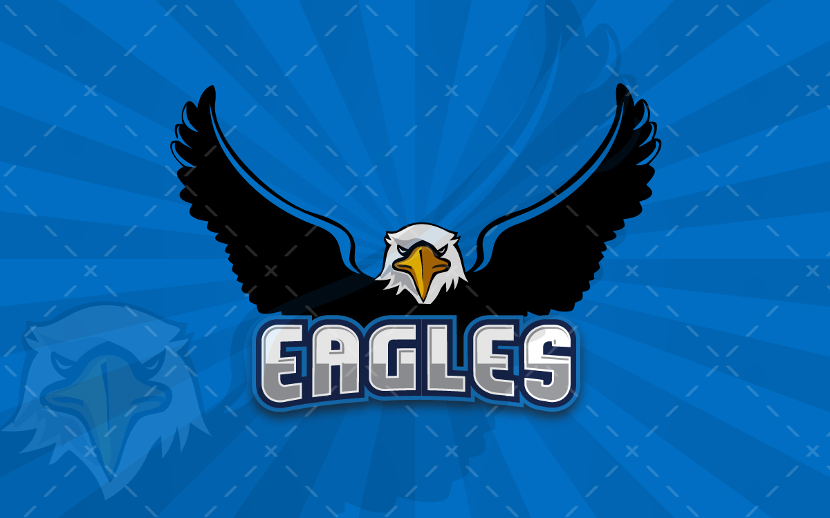 eagle sports logo for sale