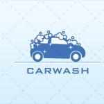 Modern Car Wash Logo For Sale