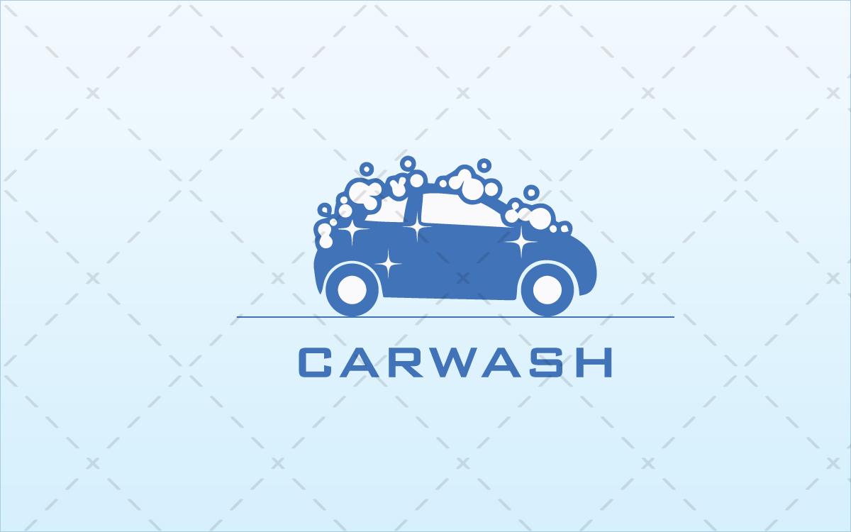 car wash logo for sale