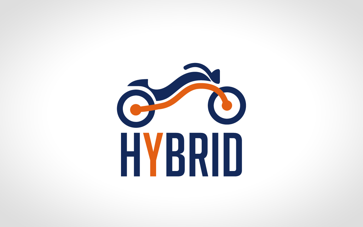 hybrid bike logo for sale