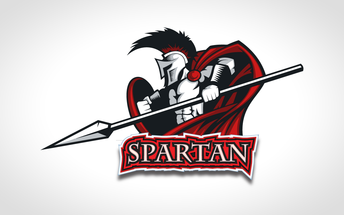 jaw dropping spartan sports logo for sale lobotz