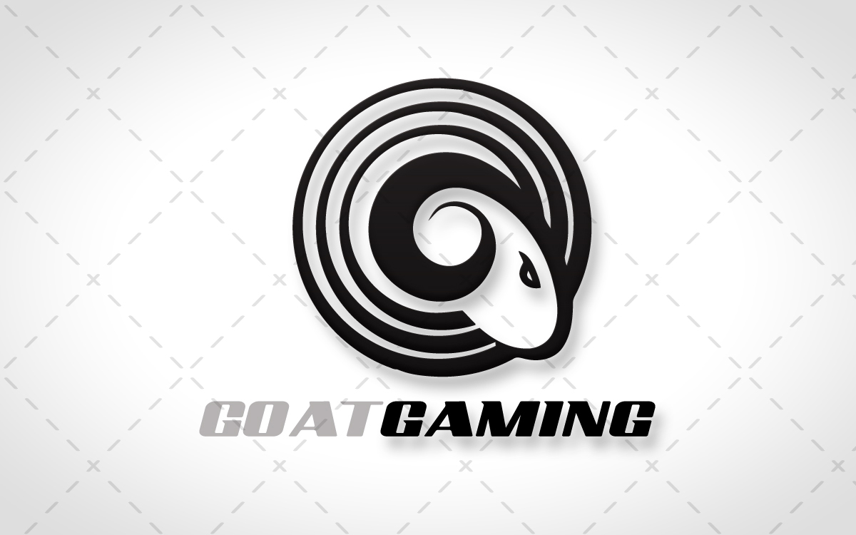 goat gaming logo for sale