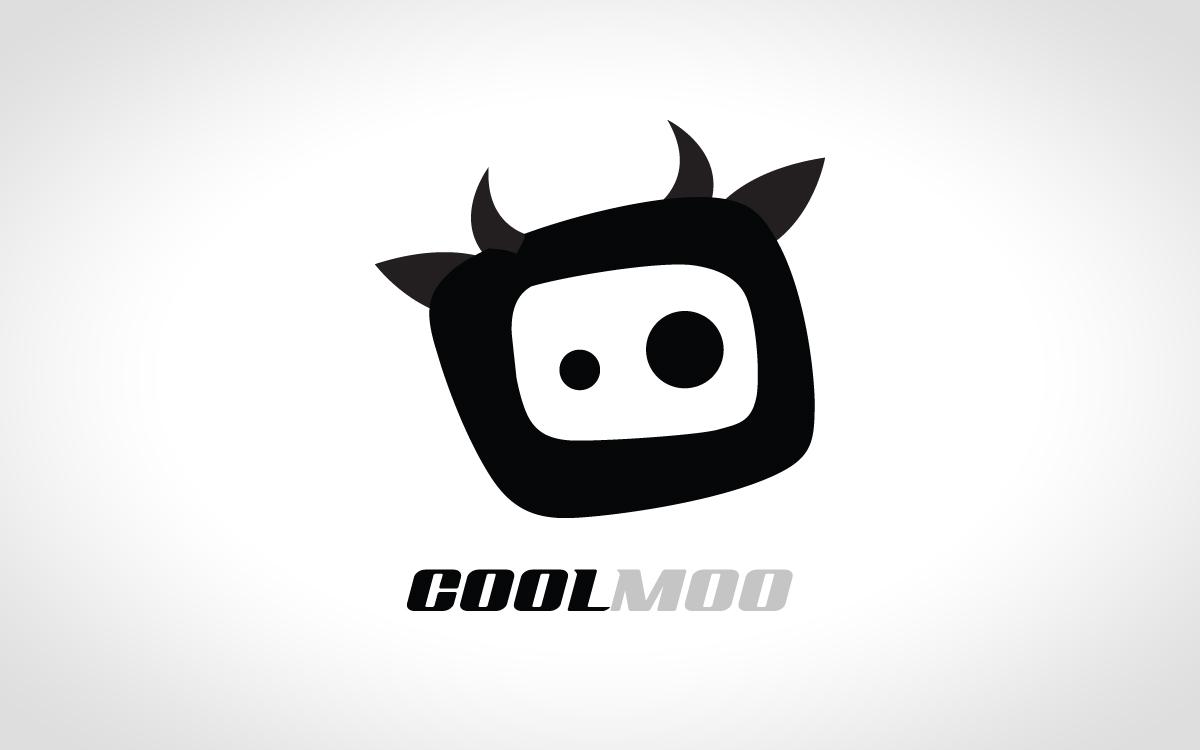 cow logo vector