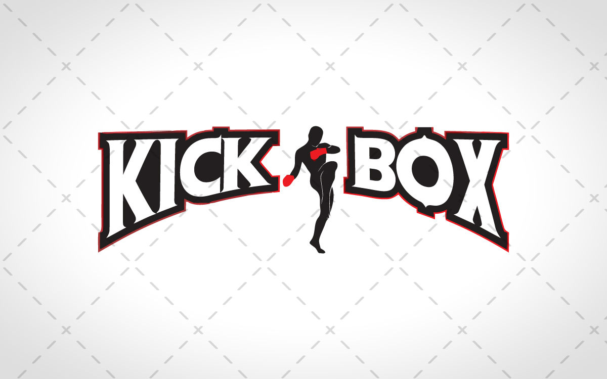 kickboxing logo for sale