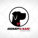 Dog Logo | Prestige Striking Dog Logo For Sale