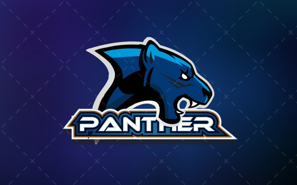 panther maascot logo for sale