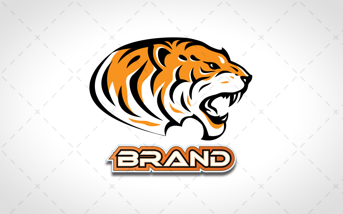 tiger head logo for sale