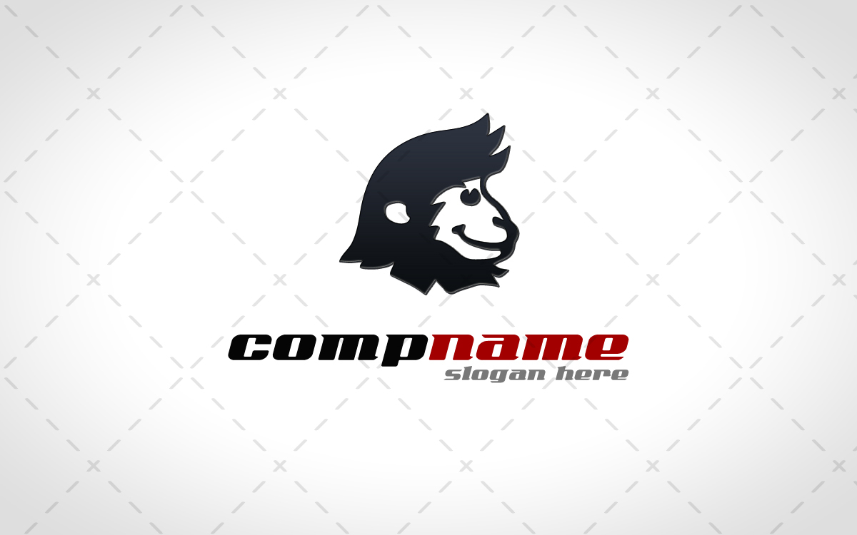 monkey head logo for sale