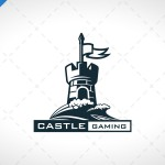 Castle Gaming Logo For Sale