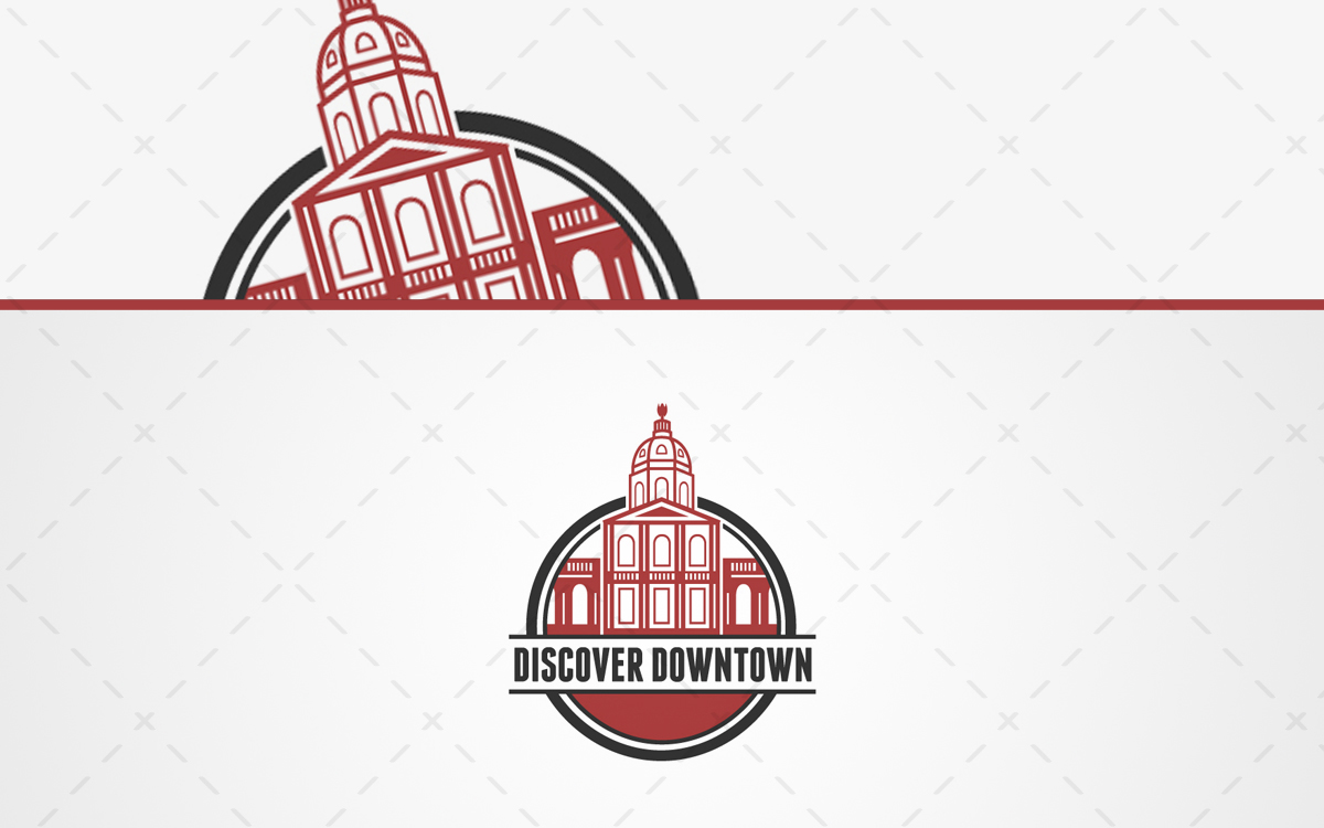 downtown logo for sale