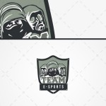 Gaming Soldiers Mascot Esports Team Logo For Sale