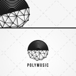 DJ Logo | Vinyl Record Music Logo For Sale