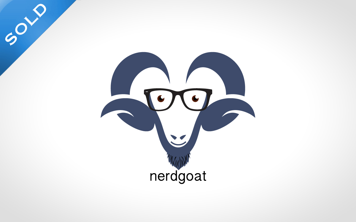 nerd logo for sale