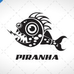 Innovative Piranha Logo For Sale