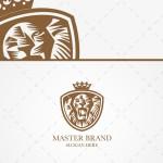 Lion Head Logo | Strong Lion Head Logo For Sale