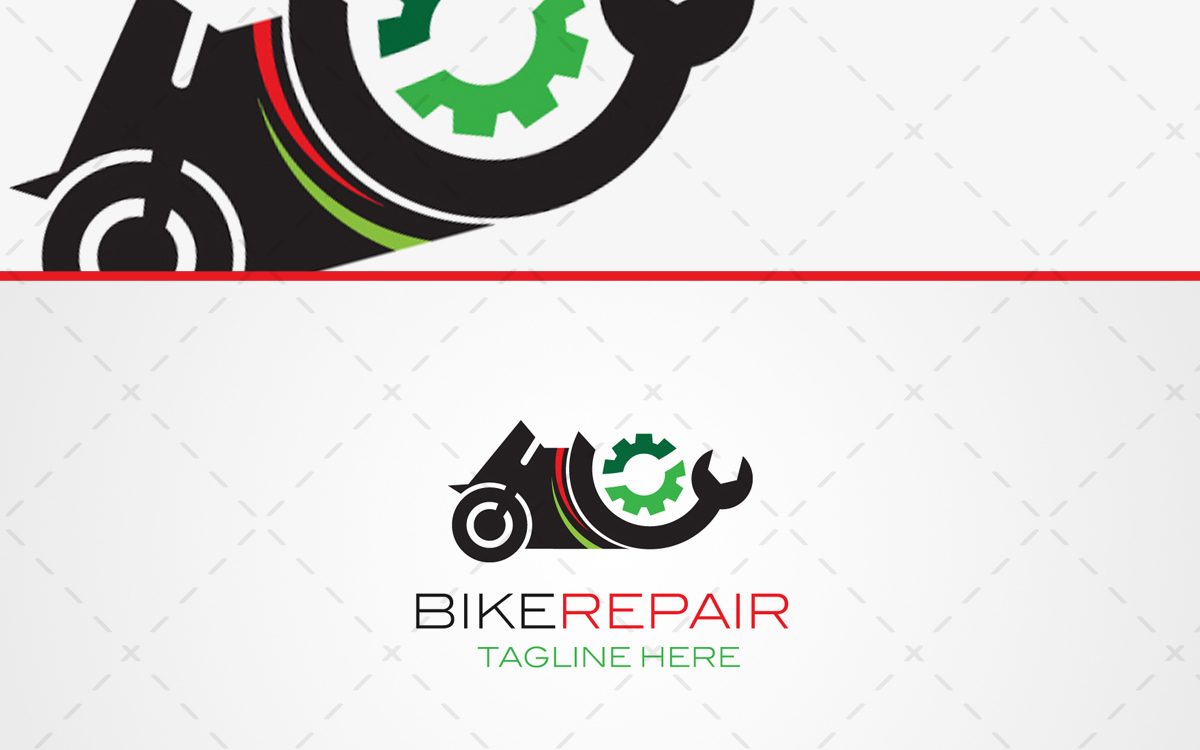 bike repair logo for sale