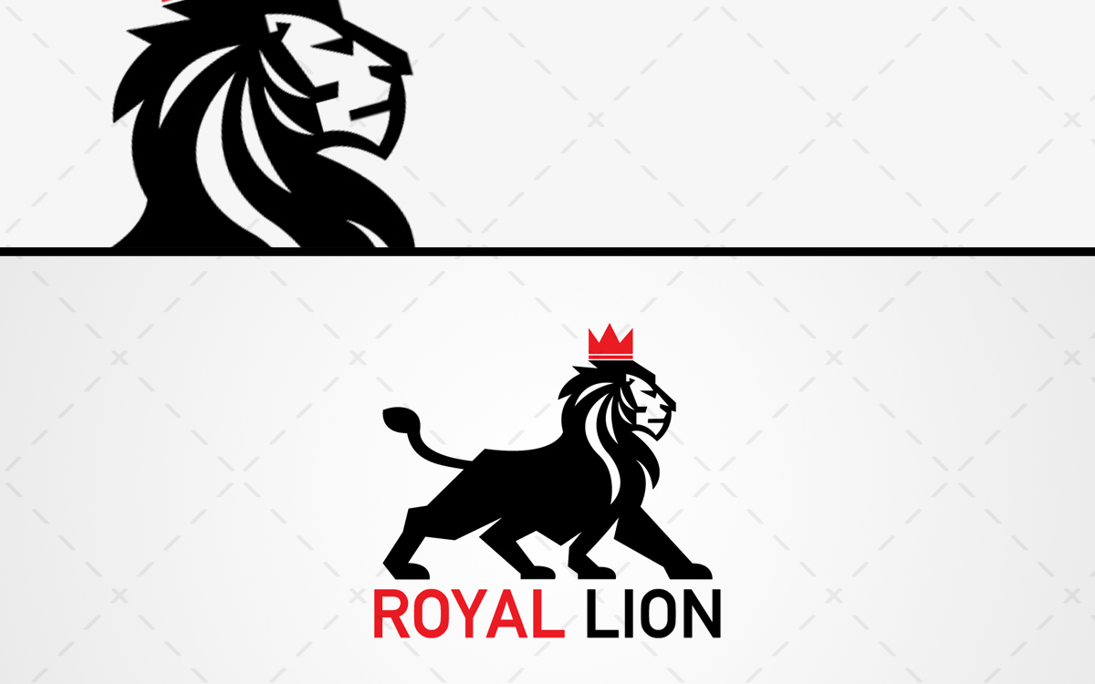 lion logo for sale