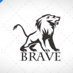 Majestic Lion Logo For Sale