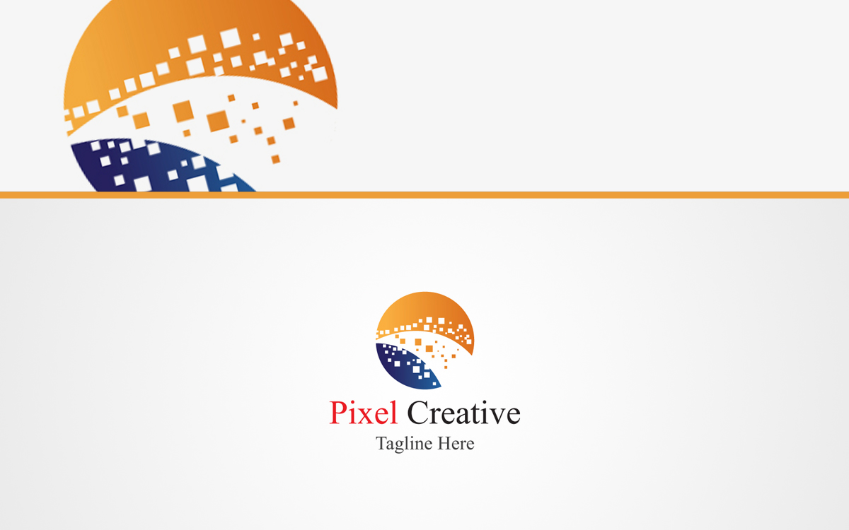 Pixel Creative Business Logo For Sale