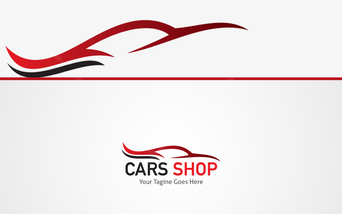 cars shop logo for sale
