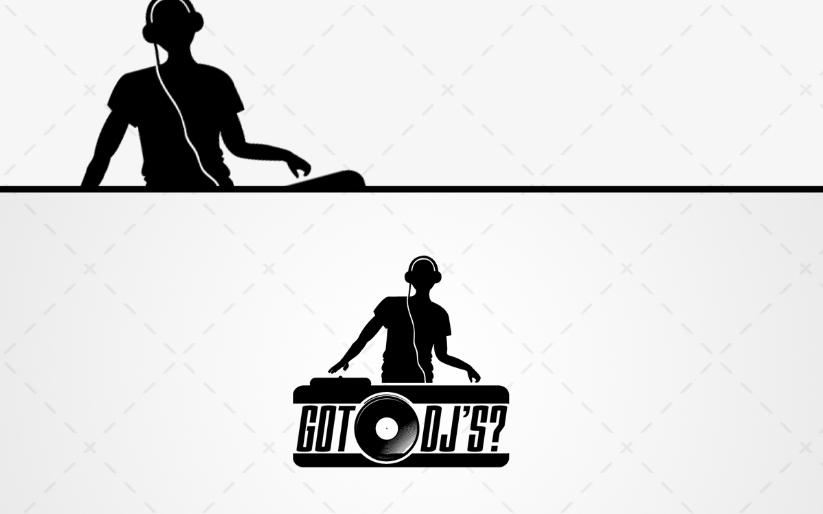 dj music logo for sale